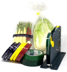เทปรัดผักพิมพ์ Fresh Vegetable